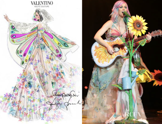 Valentino for Katy Perry PRism