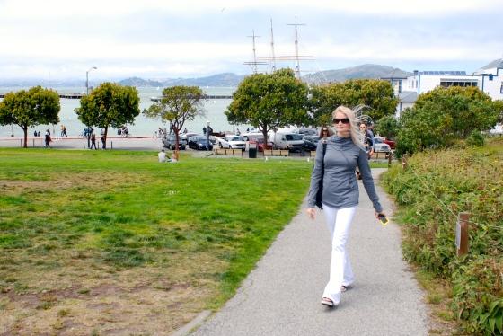 Walking in SF